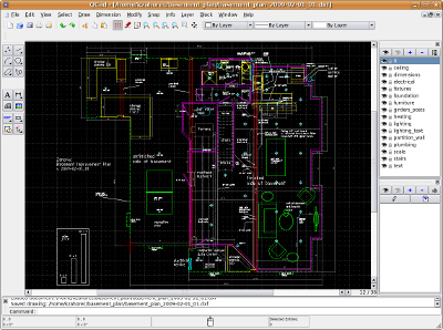 Librecad Creating A Detailed Design Drawing For A
